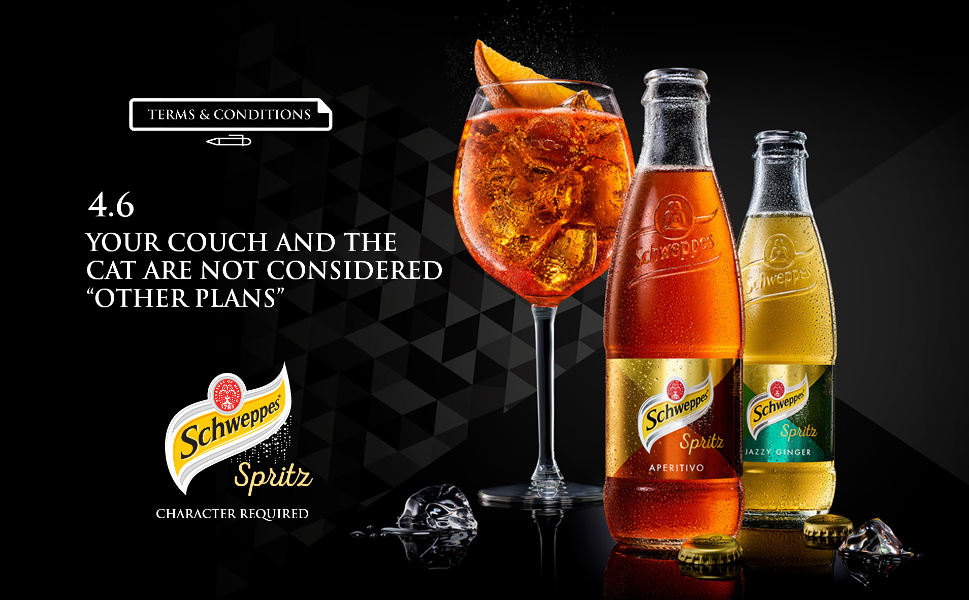 Schweppes Spritz Terms &Conditions
