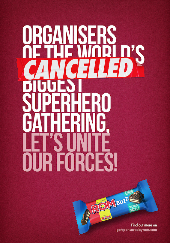 Rom BUZZ sponsors cancelled superhero events