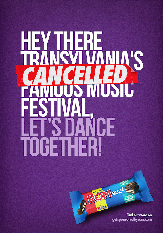 Rom BUZZ sponsors cancelled music festival